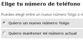Quiero elegir número de Yoigo