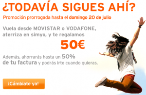 Hasta 50 euros de saldo