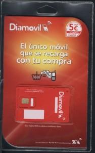 Con bono obtén tarjeta sim móvil Diamovil gratis