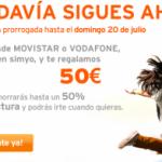 Simyo prorroga su promoción si vienes de Movistar y Vodafone