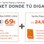 Módem Toshiba G450 libre ahora por 69 euros