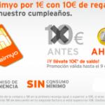 Promoción Simyo a 1 euro