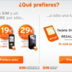 Nuevos móviles baratos y libres de Simyo