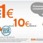 Promoción Simyo a 1 euro ampliada