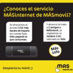 Módem USB gratis con MÁSmovil