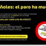 """MÁSmovil: """"Españoles, el paro ha muerto"""""""