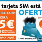 10 euros en llamadas de Blau por 5 euros
