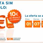 Hoy finaliza la promoción de Simyo a 1 euro