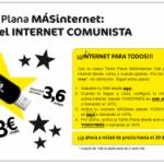 Tarifa plana Internet MásMovil