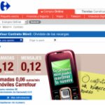Carrefour Móvil unifica sus webs