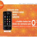 Promoción Güiken de Euskaltel y Nokia 5800
