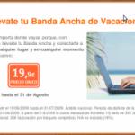 Tu banda ancha de Euskaltel de vacaciones