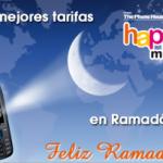 Happy Ramadan, promoción de Happy Móvil