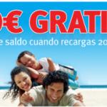 10 euros gratis en Lebara si recargas 20 euros