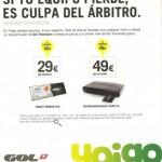 Consigue GOL TV con Yoigo