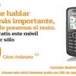 Samsung 1080 libre con Bankinter Móvil, y 30 euros de saldo gratis