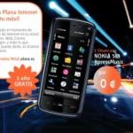 Nokia 5800 e internet móvil gratis con Euskaltel