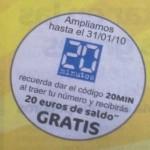 Ampliada promoción 20 euros con MÁSmovil