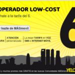 La tarifa del 6 de MÁSmovil será para siempre