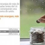 Recarga tu tarjeta Euskaltel y llévate saldo gratis