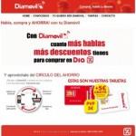 Diamovil remodela su web y ofrece descuentos en la compra por tus recargas