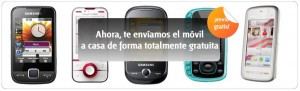 Envío gratis de móviles Euskaltel