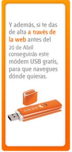 Módem USB gratis con Euskaltel