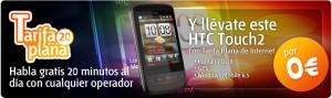 HTC Touch 2 de Euskaltel