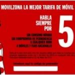 Pepephone nueva tarifa a 5 céntimos, sin tarifa de Internet