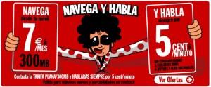 "Tarifa Pepephone ""Navega y Habla"""