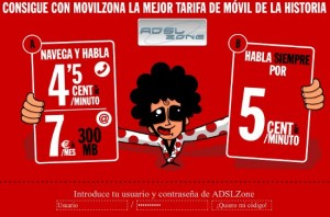 Tarifas Móvil Pepephone en colaboración con ADSLZone