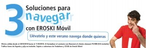 Internet móvil de Eroski Móvil