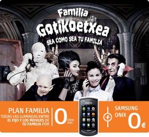 Promoción con el Plan Mi Familia de Euskaltel