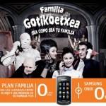 Samsung Onix gratis con el Plan Mi Familia de Euskaltel
