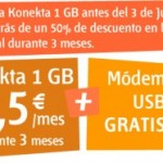 Internet móvil de 1 GB al 50% con Euskaltel