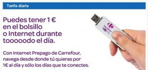 Tarifa diaria Carrefour Móvil
