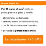 Hasta 225 SMS gratis con Bankinter Móvil