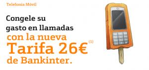 Promoción SMS gratis de Bankinter Móvil
