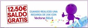 Saldo gratis co Vectone Móvil