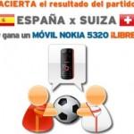Gana un Nokia 5320 con Simyo acertando el resultado del España-Suiza