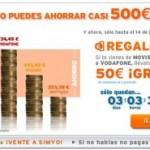 50 euros en llamadas si te portas a Simyo desde Movistar, Orange o Vodafone