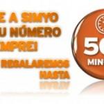 500 minutos gratis con Simyo