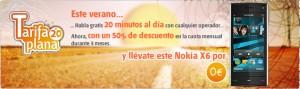 Nokia X6 gratis con Euskaltel