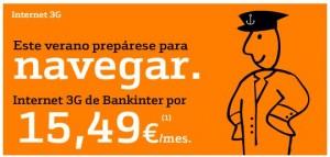 Internet móvil Bankinter Móvil 1 giga