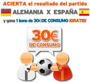 Porra Alemania España de Simyo