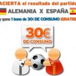 Porra Alemania-España de Simyo