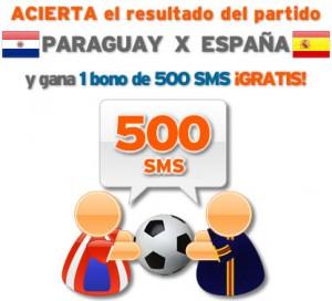 Porra España-Paraguay de Simyo