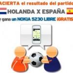 Porras del Holanda-España de Simyo y Yoigo