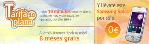 Samsung Spica, tarifa 10 minutos