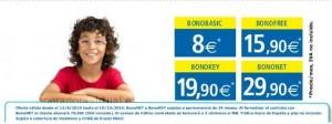 Eroski Móvil, renueva precios de bonokey y bononet